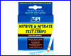 Экспресс-тест воды, API Nitrite & Nitrate Aquarium Test Strips.