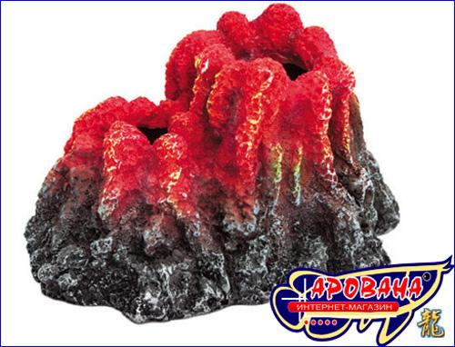 Aquael Volcano, - декорация вулкан для аквариума.