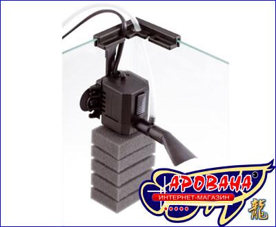 В аквариумном наборе Aquael Shrimp Set 20 встроен миниатюрный фильтр  PAT-MINI.