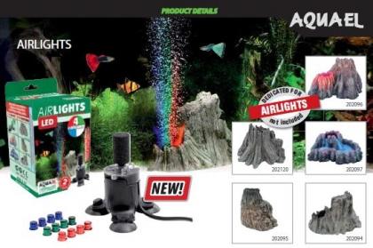 Aquael Volcano, - декорация для компрессора.
