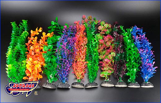 Набор растений искусственных, AP 51 см, 10 шт.