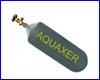 CO2 баллон заправляемый, AQUAXER 1300 г., 2 л.
