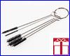 АКЦИЯ! Ёршик для чистки трубок, AQUAXER Brush S (набор ёршиков), 5 шт.