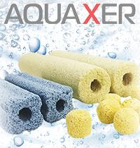 Новинка! Керамические наполнители AQUAXER для аквариума и пруда.