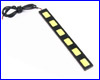 Led планка, AQUAXER LED, 6 Вт. (6х1 Вт).