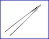 Пинцет прямой, AQUAXER, 27 см.