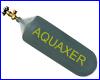 CO2 баллон заправляемый, AQUAXER 3300 г., 5 л.