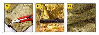 Скальные террариумные фоны Exo Terra легко режутся и имеют невероятно натуральный внешний вид.