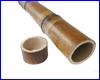 Декорация AQUAXER, бамбук 9-11 см, 5 см.