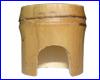 Декорация AQUAXER, бамбук домик M.
