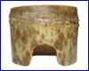 Декорация AQUAXER, бамбук домик L.