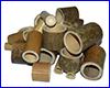 Декорация AQUAXER, бамбук комплект трубок 6 шт, (random).