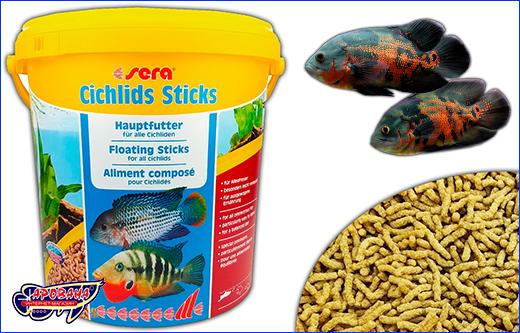 Корм Sera Cichlids Sticks