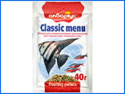 ���� ��������, Classic Menu - Floating Pellets  40 �.