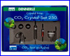 CO2 система, Dennerle СО2-Crystal-Set 250.