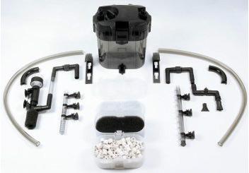 Dennerle Nano External SkimFilter сверхтихий фильтр с поверхностным скиммером для пресноводных  аквариумов от 30-112 литров.