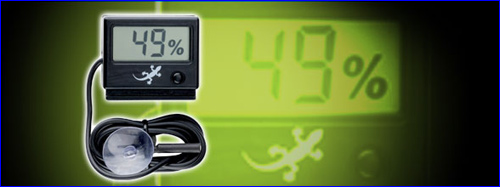 Exo Terra Hygrometer аналоговый гигрометр для террариума. Для контроля влажности в террариуме.