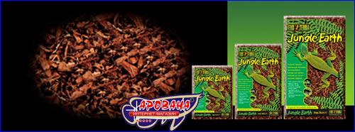 Exo Terra Jungle Earth 100% почвенная декоративная подстилка из джунглей стимулирует природные рефлексы у животных и рост растений.
