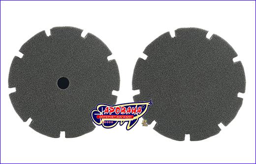 Фильтрующая губка, серая круглая 25х15х15 см.