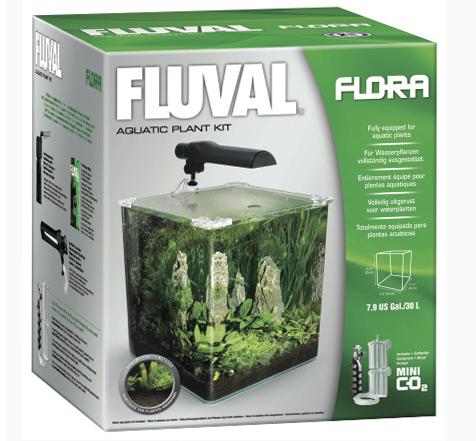 Fluval Flora Nano Aquarium оснащен стеклянной крышкой, которая закрывает аквариум достаточно плотно, помогает свести к минимуму возможность испарение воды и поддержания стабильного уровня CO2.