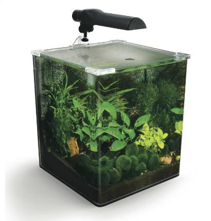 Fluval Flora Nano Aquarium, - аквариумный комплект с полным комплектом оборудования для выращивания растений в аквариуме.
