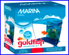 Аквариум, Hagen Marina GoldFish Kit, синий, 10 л.