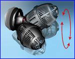 Циркуляционный насос SunSun JVP-102 для морских аквариумов