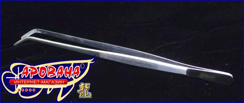 JBL AquaTerra Tool P2 чрезвычайно прочный и надежный изогнутый пинцет.