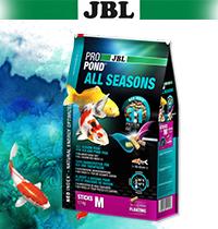 Новинка! Корма JBL ProPond All Seasons.