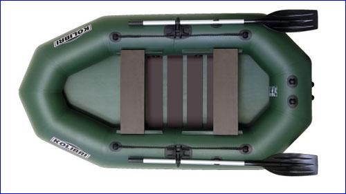 Колибри К-250Т -  двухместная лодка.