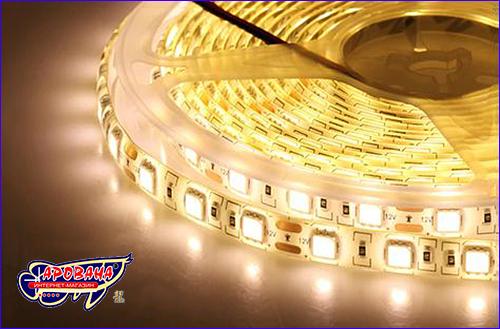 LED лента, SMD 5050, 3000-3200К (тёплый белый).
