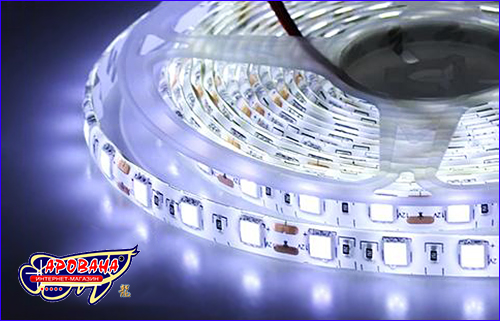 LED лента, SMD 5050, 6000-6500К (белый).
