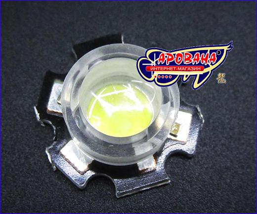 Линза LED 45°, 13 мм.