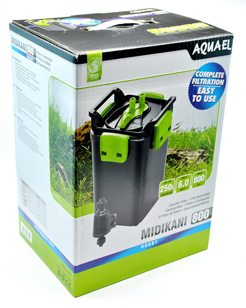 Aquael Midikani 800 - коробка фильтра.