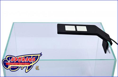 Уникальный и минималистичный дизайн нового светодиодного светильника AquaLighter Nano Marine.