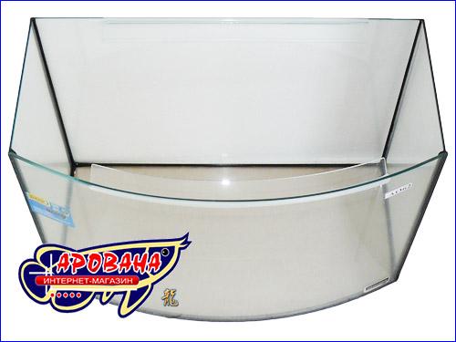 Домашний аквариум с выгнутым передним стеклом от Природы на 62 л.