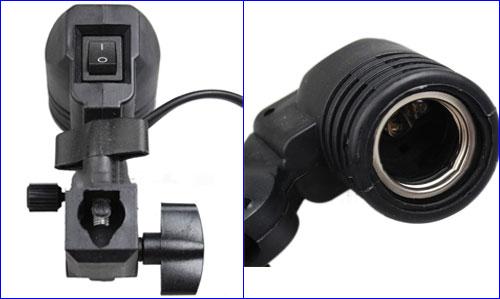 Аквариумный держатель ламп с цоколем под лампы формата E27.