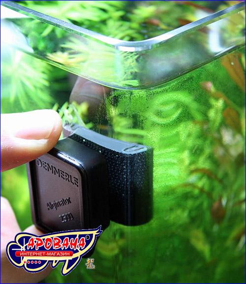Скребок для чистки нано аквариума - Dennerle NANO Alginator.