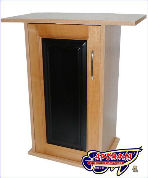 Дверка с вставкой чёрного цвета.