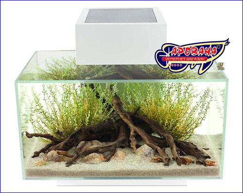 Нано аквариум с полным комплектом оборудования.