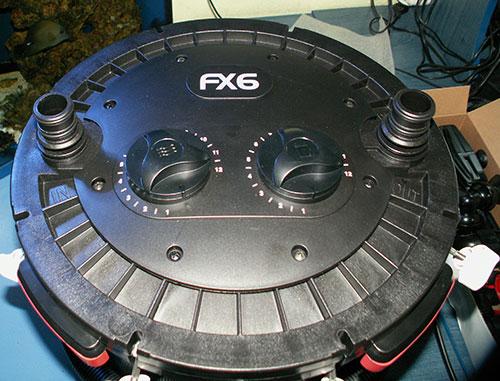 Верхняя крышка фильтра Fluval FX6.