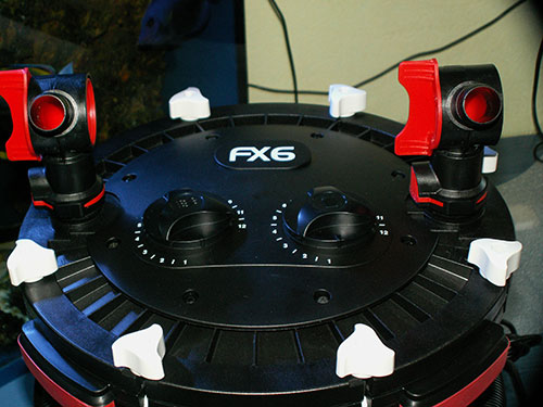 Крышка фильтра Fluval FX6.