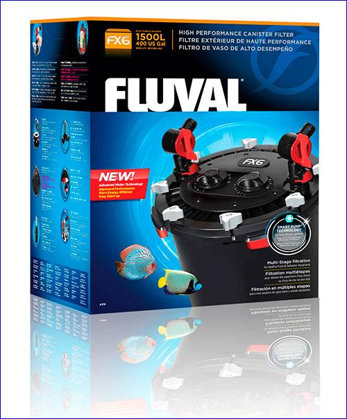 Fluval FX6 внешний фильтр для аквариумов до 1500 литров.