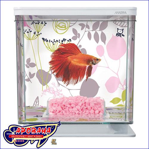 Аквариум пластиковый для рыб.