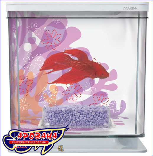 Hagen Marina Betta Kit Flower - аквариумный комплект для петушка Hagen.