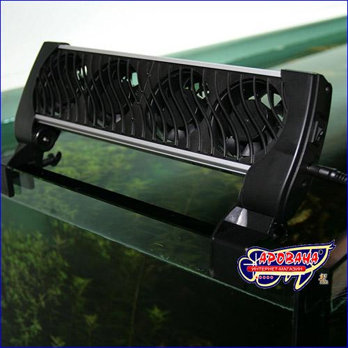 Вентилятор для охлаждения аквариума JBL.