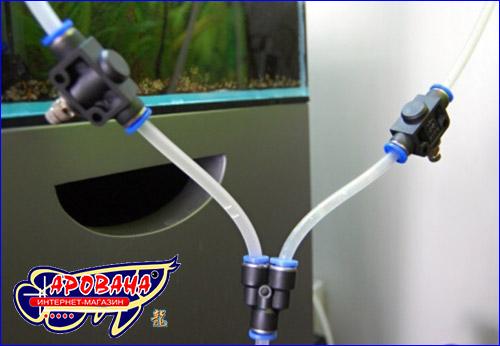 Способ установки краника тонкой регулировки CO2.