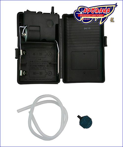 Аквариумный компрессор на батарейках.