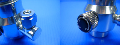 Мини СО2 редуктор с манометром.