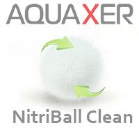 Бионаполнитель AQUAXER NitriBall Clean